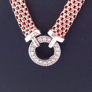 Collier Milanaise in Rosé